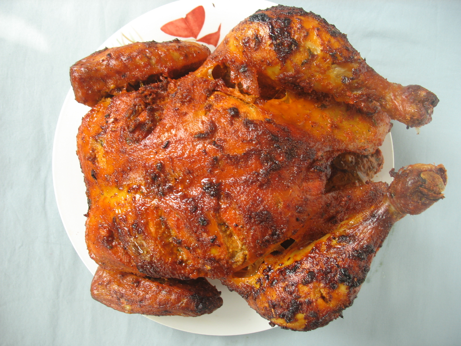 Tandoori Chicken Roast | Desi Home Cooking - Adventures of a Real ...
